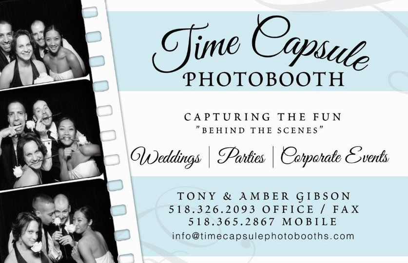 Time Capsule Photo Booth