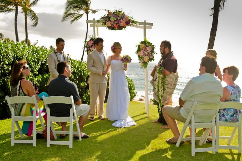 Wailea Knoll Wedding