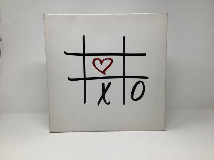 Love Hugs Kisses 12x12 Canvas