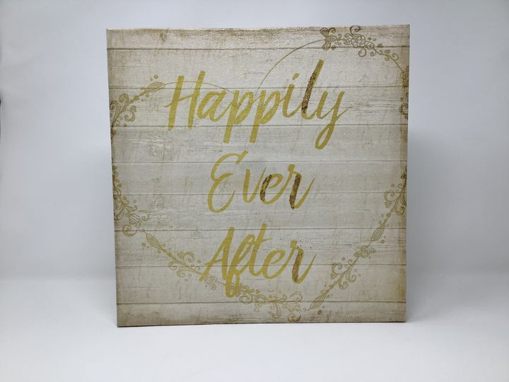 Happily Ever After 12x12Canvas