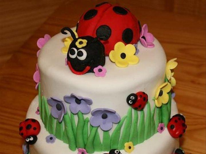 Tmx 1310995043984 Ladybug Carrollton wedding cake