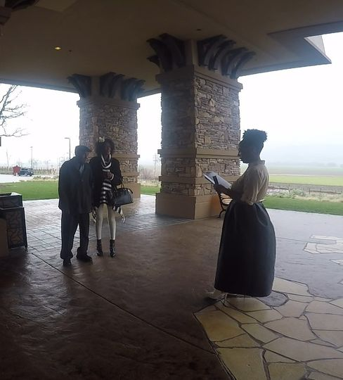 Sheila and Oliver's ceremony at Cache Creek Casino