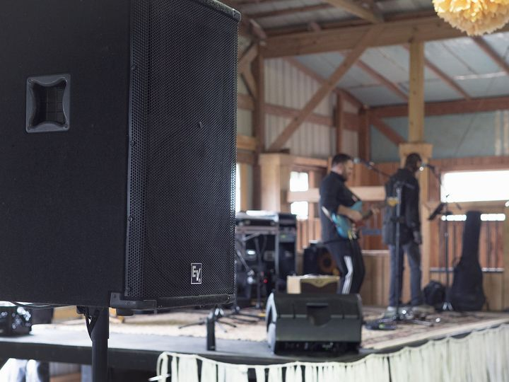 Band Performance Venue Sound Rental