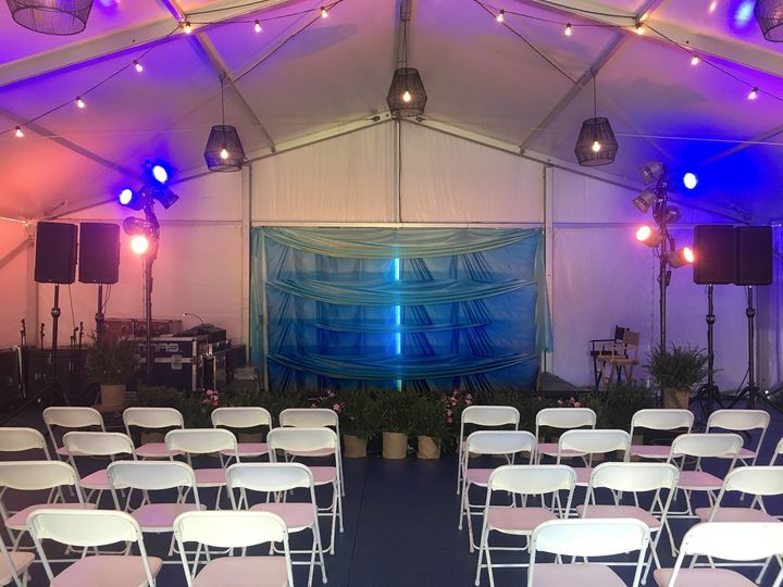 Private Party Tent Event