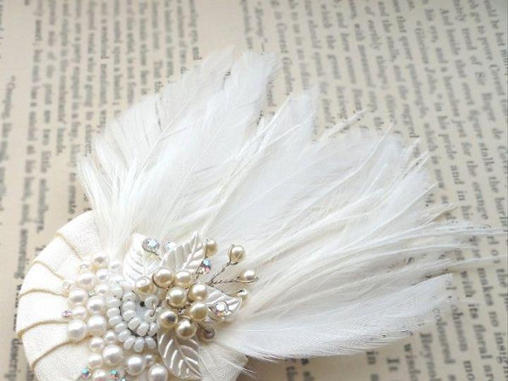 Tmx 1296192190428 Pleatedfeather2 Spanaway wedding dress