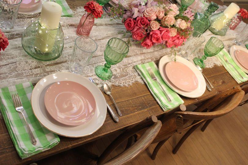 Elegant Farm Tables