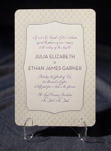 Tmx 1377021541834 Smock Palmes Custom Letterpress Sample 1 Hingham wedding invitation