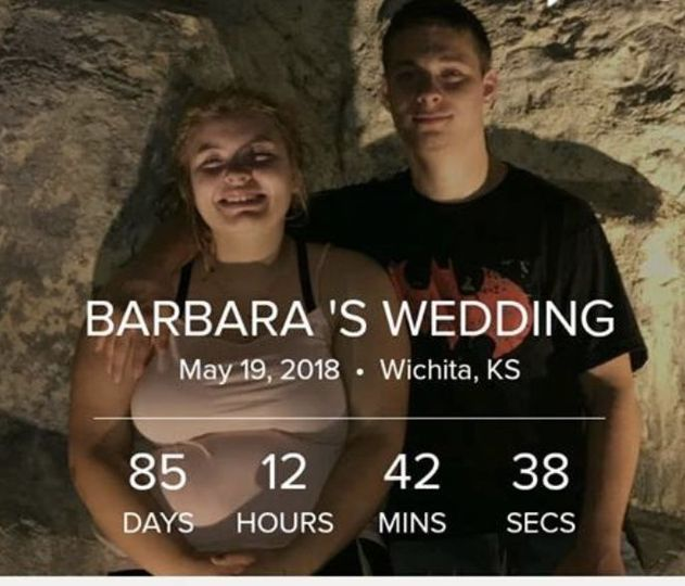 Keeping a countdown calendar helps with the anticipation... 05.19.2018 Outdoor Park Wedding ♥️