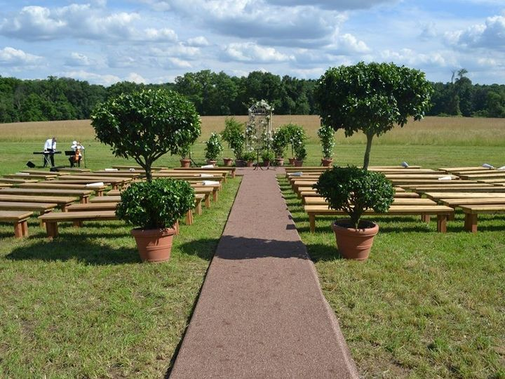 Tmx 1461339839348 Farm Benches Mount Holly wedding rental
