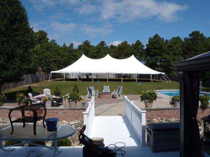 Tmx 1461340187037 Pole Tent 40x80 Mount Holly wedding rental