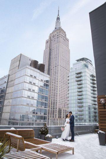 Arlo NoMad's 31st floor rooftop