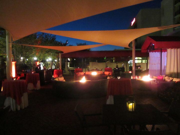 Main Patio, reception
