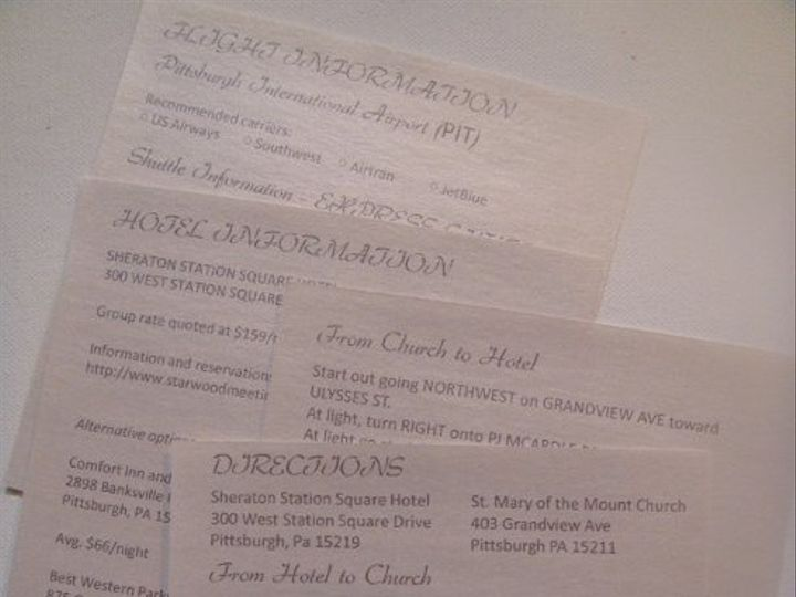 Tmx 1236030599856 DSC04682 Pittsburgh wedding invitation