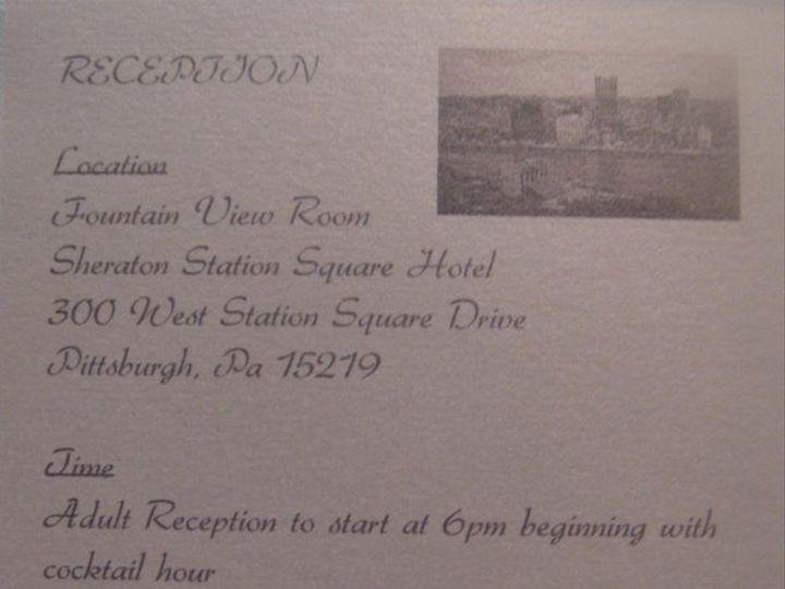 Tmx 1236030605414 DSC04683 Pittsburgh wedding invitation