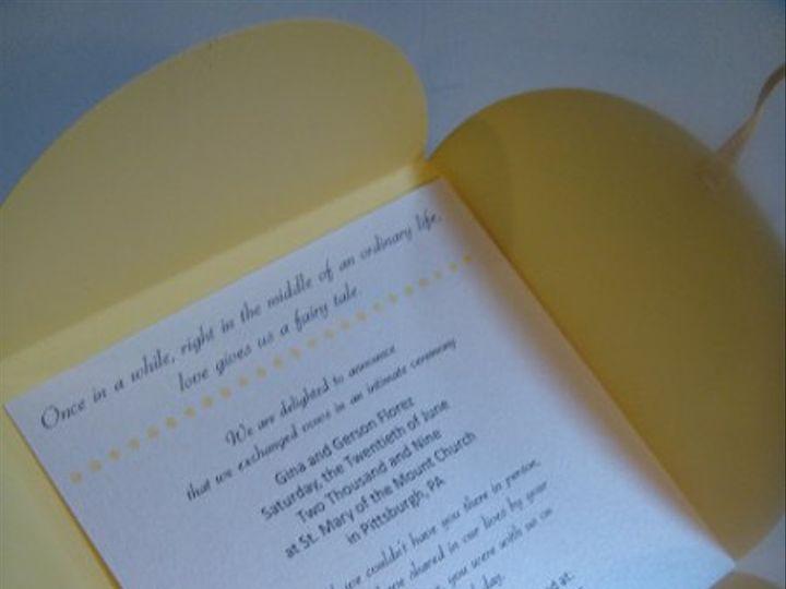 Tmx 1236030673106 DSC04687 Pittsburgh wedding invitation