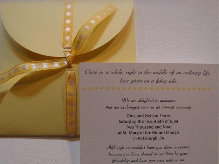Tmx 1236030703555 DSC04688 Pittsburgh wedding invitation