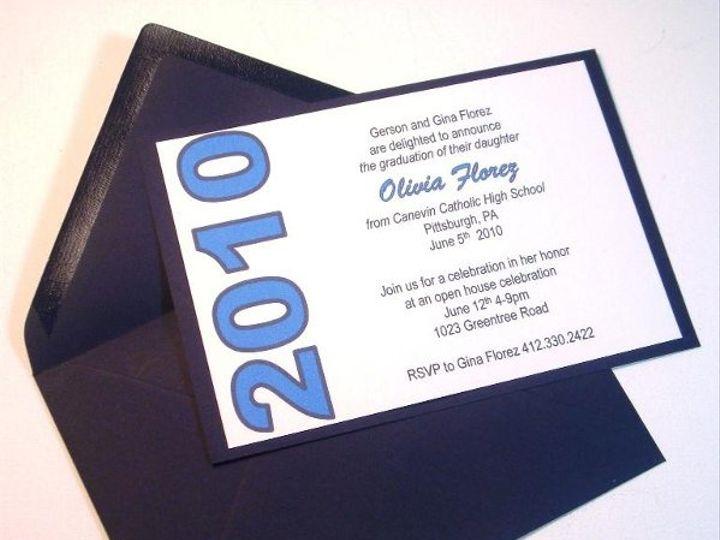 Tmx 1247793694458 DSC03514 Pittsburgh wedding invitation
