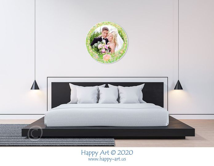 The Art Disk in the Bedroom