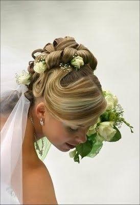 Tmx 1377987064283 Medium Hair Updos Exton, Pennsylvania wedding beauty