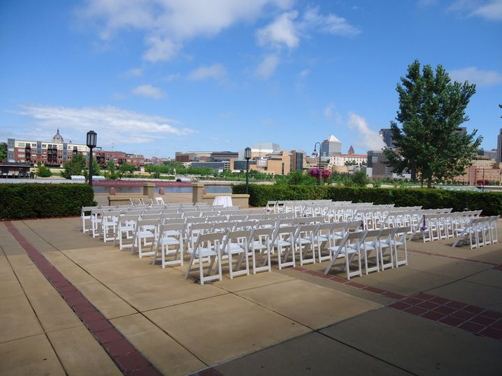 Ceremony along the river