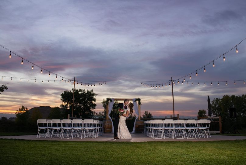 Ceremony sunset