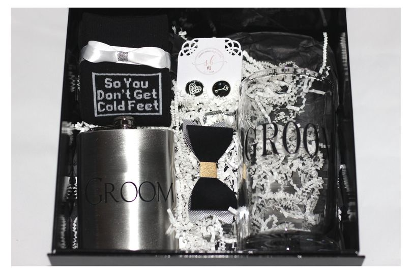 Custom Groom Gift Box
