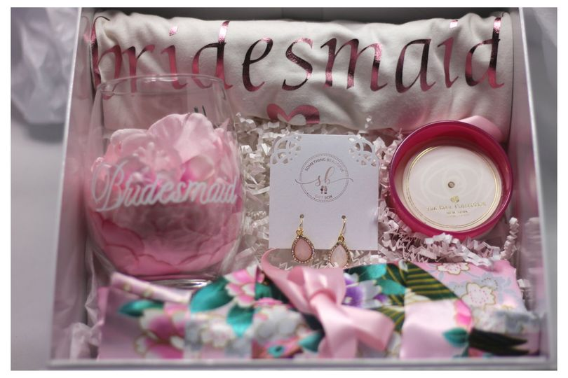 Custom Bridesmaid Gift Box