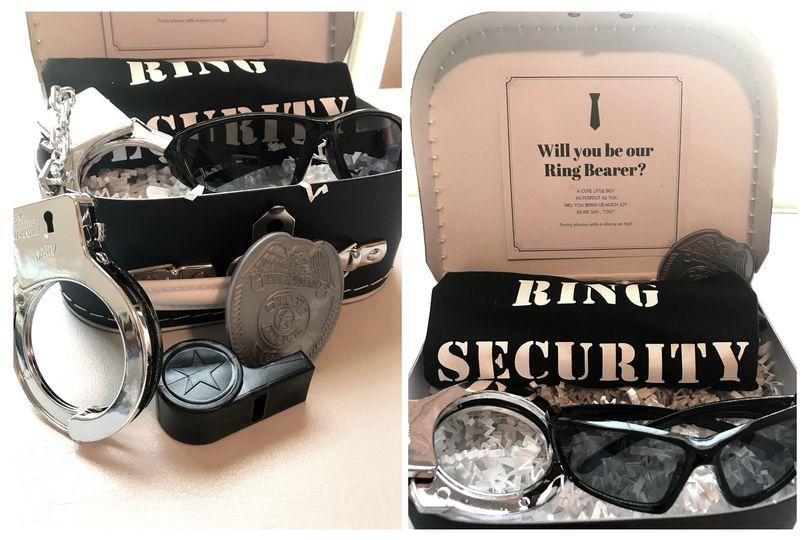 Ring Bearer Gift Box