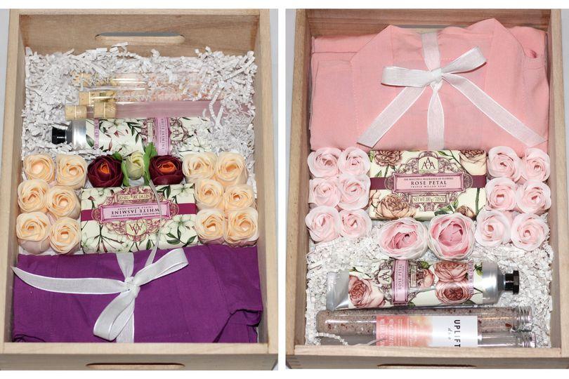 Custom Honeymoon Gift Box