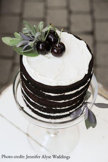 Windflower Cakes naked cake