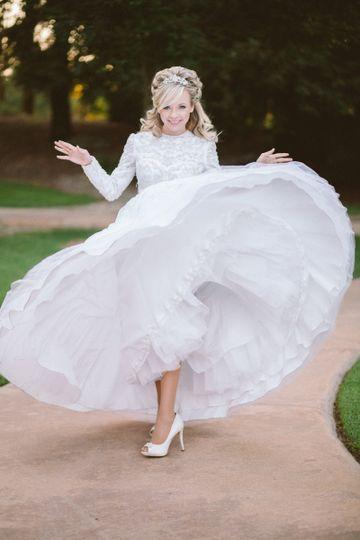 Amy, the bride
