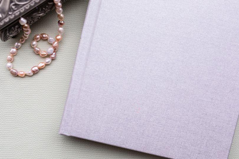 Closeup of linen cover
