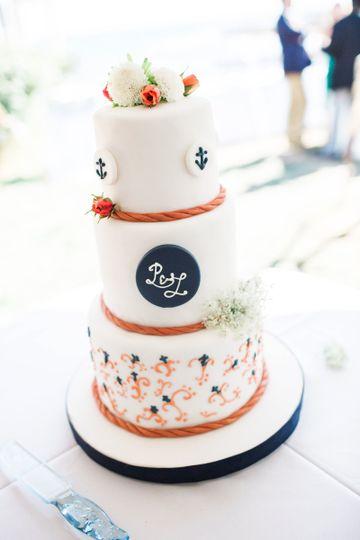 Cakes for All Seasons Wedding Cake Parsonsfield ME WeddingWire