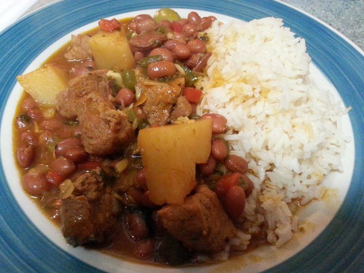 Spanish beans and rice