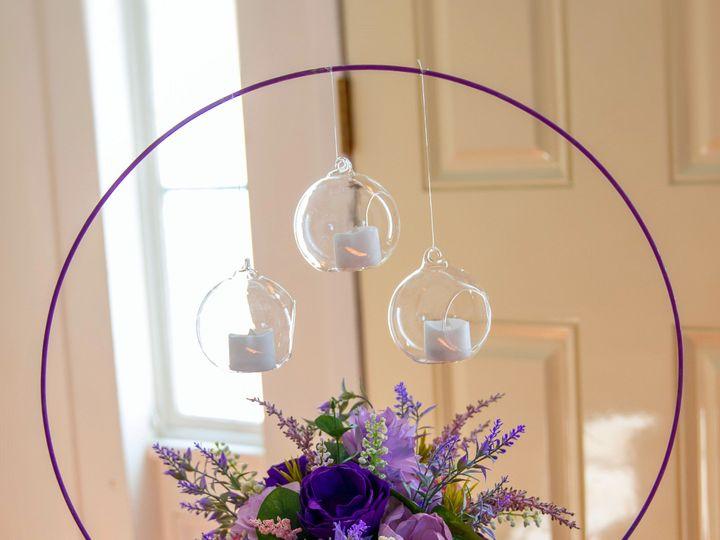 Tmx Hoop Centerpiece Blurred 51 1974217 159242675166108 Rochester, NY wedding florist