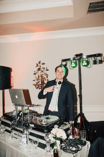 DJ at work