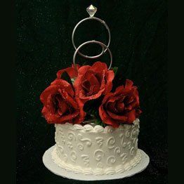 Tmx 1257633127543 Doubleringcaketopfloral262 Dilworth wedding favor