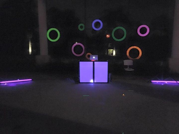 Sweet 16 Glow Party