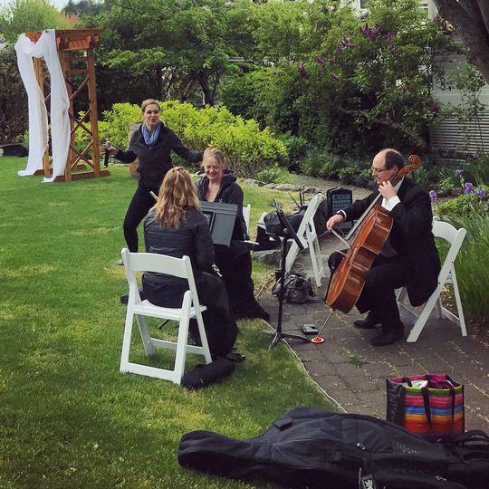 Ceremony music w/Tristin