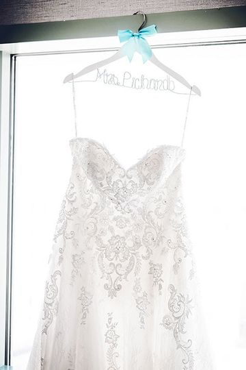 Beautifully detailed gown