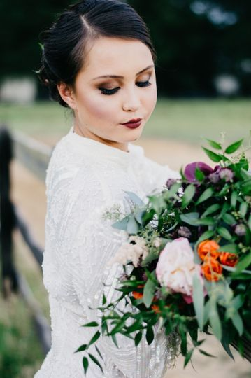 1900s Inspired Bride