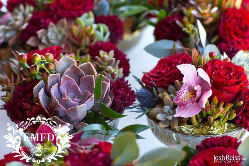 elizabeth marks floral design centerpiece2