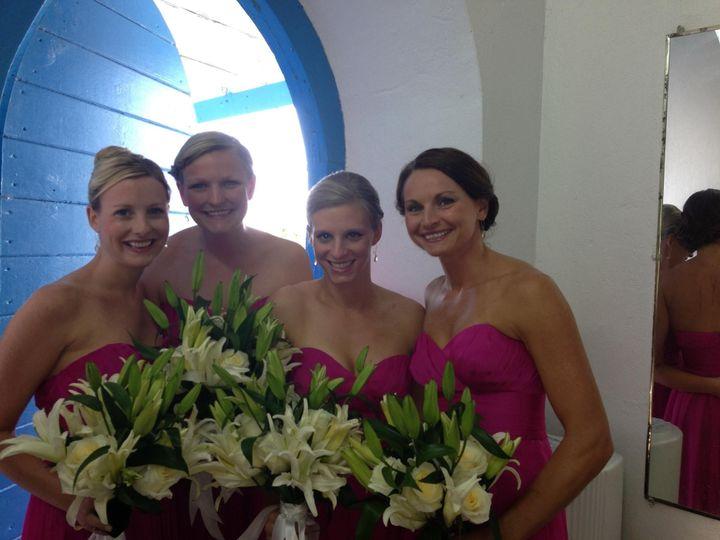 Happy hydrated Bridesmaidss