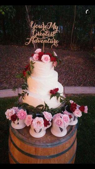 cake top of barrel