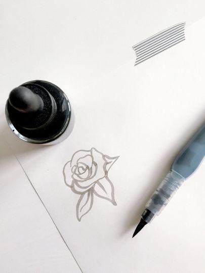 watercolorrose