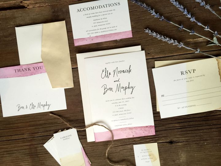 Tmx 1465923408538 Fullsuite Des Moines, IA wedding invitation