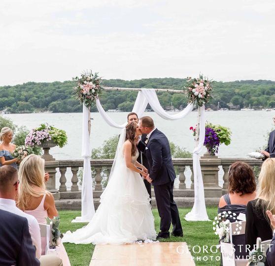 Wedding: Summer Birch Arch