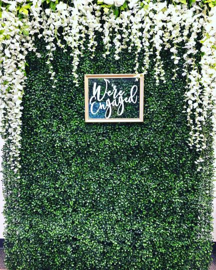 Floral wall for any event