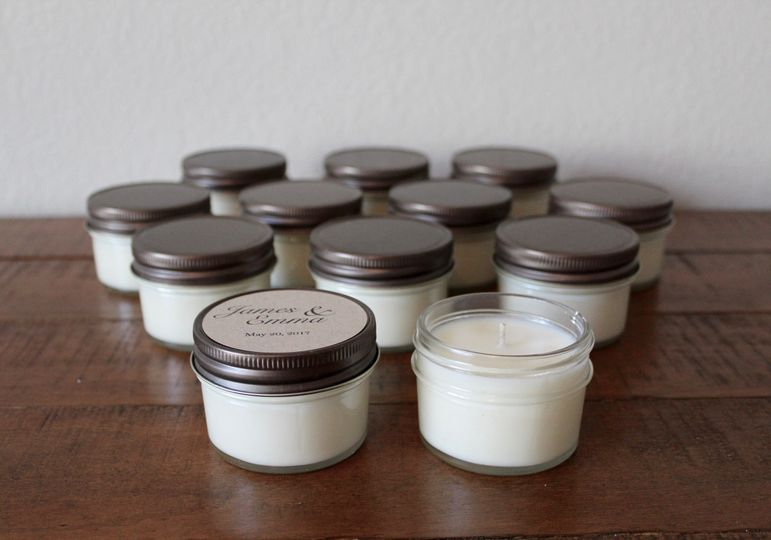 4-Ounce Candle Favor