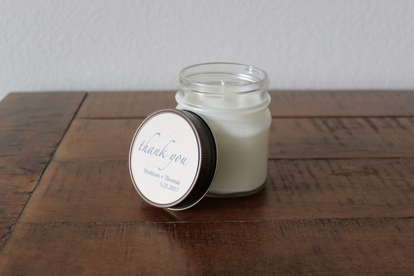 8-Ounce Candle Favor